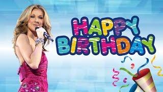 Celine Dion- Singer Turns 48 -Happy Birthday! Gossip Video