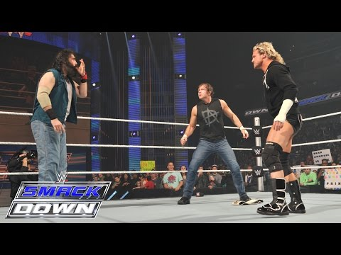 An altercation ensues over the Intercontinental Championship - SmackDown, March 5, 2015 - WWE Wrestling Video