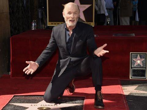 Ed Harris Receives Walk of Fame Star News Video