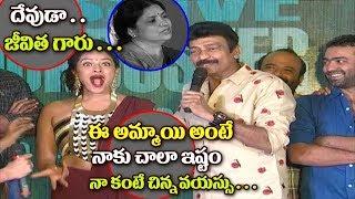 Hero Rajasekhar Making Hilarious Fun With Garuda Vega Team | Rajasekhar Superb Fun | Top Telugu Tv