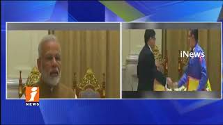 PM Modi Tour in Myanmar | Meeting With State Counsellor Aung San SuuKyi | iNews