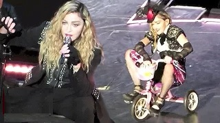 Madonna Melbourne Concert Full Show Video | Swears F-Word