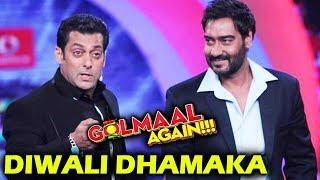 Salman And Ajay TOGETHER After 5 Years - Diwali Dhamaka