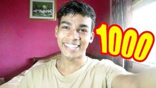 We are 1000 STRONG! TamashaBera