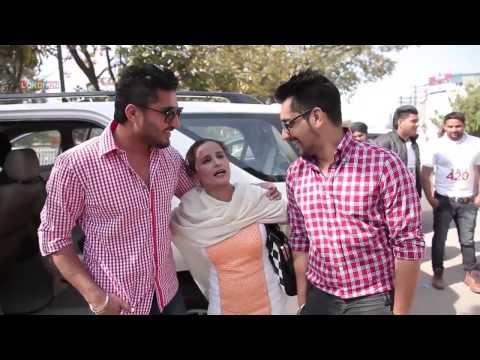 Mr & Mrs 420 - Bhatinda - Moga - Promotional Tour - Jassi Gill - Babbal Rai