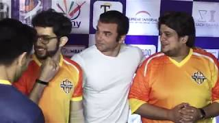 Star Studded Exhibition Match Yuva Mumbai Vs Mumbai Heroes