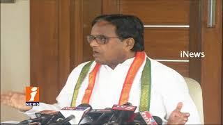 Congress Leader Ponnala Lakshmaiah Challenge TRS Govt On Irrigation Project In Telangana | iNews