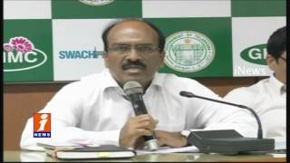GHMC Mayor Bonthu Rammohan meeting Over Demolition Of Illegal Construction  |