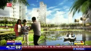 Pantauan Udara Proyek Pembangunan Pulau G