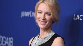 Blanchett Queries Lack of Female Film Directors News Video