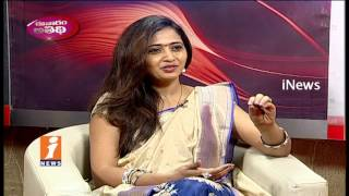 Lasya Reveals About Her Anchoring Career and Education | Evaram Athidi | iNews