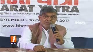 Nobel Laureate Kailash Satyarthi Call To Join Bharat Yatra Agaiinst Child Sexual Abuse | iNews