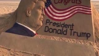 Sudarsan Pattnaik congrats Donald Trump in a special way