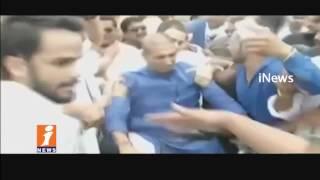Congress Rahul Gandhi Arrested By Police In Mandsaur | Madhya Pradesh | iNews