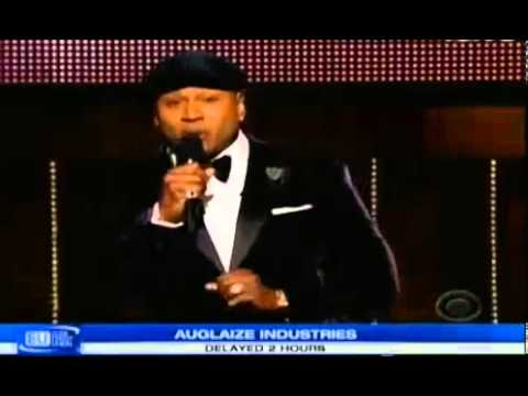 Grammy awards 2014 Full Show - LL Shouts out to Taylor Swift in the Audience
