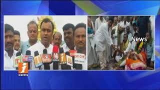 MLC Komatireddy Rajagopal Reddy Visits Yadagiri Laxmi Narasimha Reddy Temple | iNews