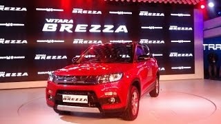 Vitara Brezza SUV from Maruti to be launched on March 8