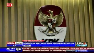 KPK Hormati Penghentian Sementara Reklamasi Teluk Jakarta