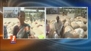 Old Notes Issued to Cotton Traders at Karimnagar Market Yard | Farmers Not Ready To Accept | iNews