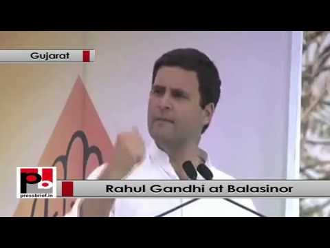 Rahul Gandhi - We must bring the poor to the middle class group