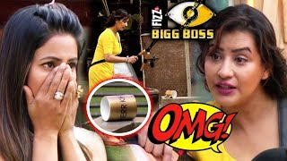 Shilpa DESTROYS Hina Khan's SHERR KHAN Cup, Fans Bash Hina For Bad Mouthing Against Shilpa