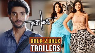 Next Nuvve Movie Back To Back Trailers || Aadi Sai Kumar, Vaibhavi, Rashmi Gautam, Brahmaji