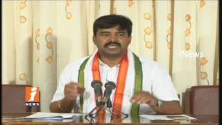Cong MLA Vamsi Chand Reddy Serious Comments On CM KCR Over Palamuru Lift Irrigation Issues | iNews