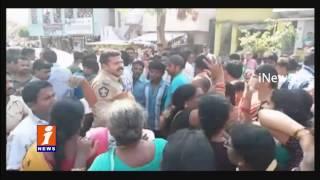 Vadlapudi Woman Oppose Bar and Restaurant | Destroyed Bar | iNews