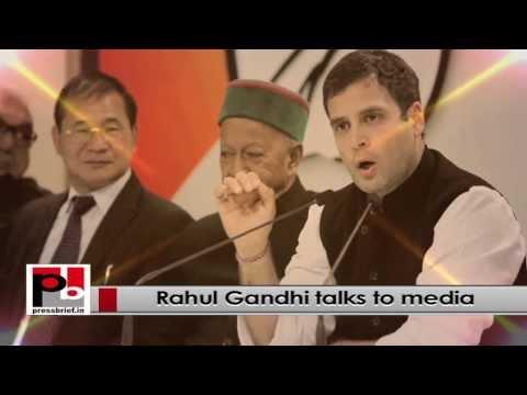 Sonia Gandhi and Rahul Gandhi- Congress foundation day