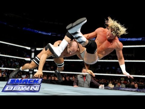 Dolph Ziggler vs. Antonio Cesaro - Elimination Chamber Qualifying Match- SmackDown, Jan. 31, 2014 - WWE Wrestling Video
