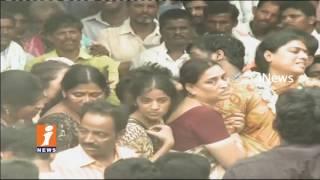YS Jagan Attend For YSRCP Pattikonda Narayana Reddy Funeral In Cherukulapadu | iNews