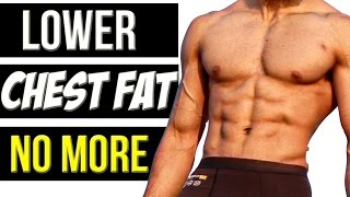 REMOVE LOWER CHEST FAT | Get rid of Man Boobs Fast  | Abhinav Mahajan