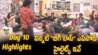 Jr NTR Bigg Boss 10 th Day Highlights l Mumaith Khan Exit From 'Bigg Boss' l- Big boss Epiosde 11