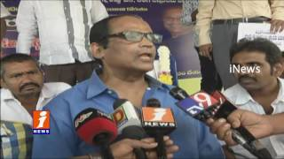 Protest in Vijayawada For Potti Sriramulu Memorial Building in Chennai | iNews