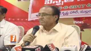 CPI Leader Suravaram Sudhakar Comments On CM Chandrababu Naidu | AP Special Status | iNews