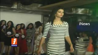 Fashion Show in Hyderabad | Models Catwalk in Traditional and Modern Dresses | iNews