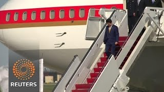 Abe arrives in U.S. for nuclear summit News Video