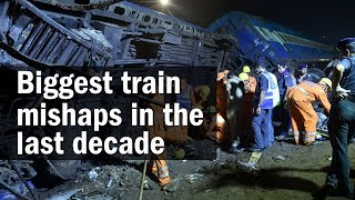 10 big train mishaps in India in last decade | Kalinga Utkal Express
