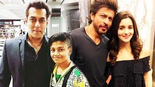 Salman Khan In Hong Kong For Da-Bang Tour 2017, Shahrukh Khan To ROMANCE Alia Bhatt In DWARF
