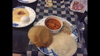 What we ate in Kerala- Breakfast buffet at Blue Waters Cherai beach