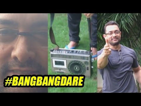 Aamir Completes Bang Bang Dare! But Disappoints