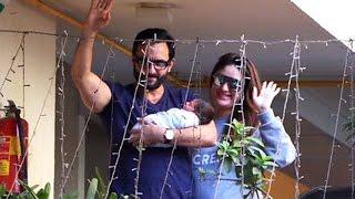 Kareena Kapoor & Saif Ali Khan BACK HOME With BABY - Taimur Ali Khan