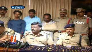 Police Arrested Odisha Thefts On Robbers In Gold Shops At Visakha    Be careful   iNews