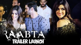 Sushant Singh Rajput & Kriti Sanon's GRAND ENTRY At Raabta Trailer Launch