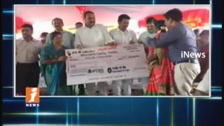 Minister Acham Naidu Participated In World Adivasi Day Celebrations In Srikakulam | iNews
