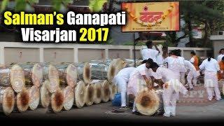 Salman Khan's Ganpati Visarjan 2017 - Vandan Dhol Tasha Pathak Gets Ready