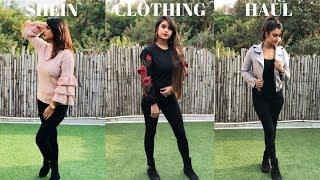 SHEIN CLOTHING HAUL