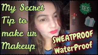My Secret Tip to Make any Makeup Waterproof | SweatProof Summer Makeup | Avoid Cakey Foundation