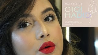 23eb9e4255a Watch MAYBELLINE X GIGI HADID MASCARA REVIEW (video id ...